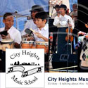 Facebook cover for City Heights Music School